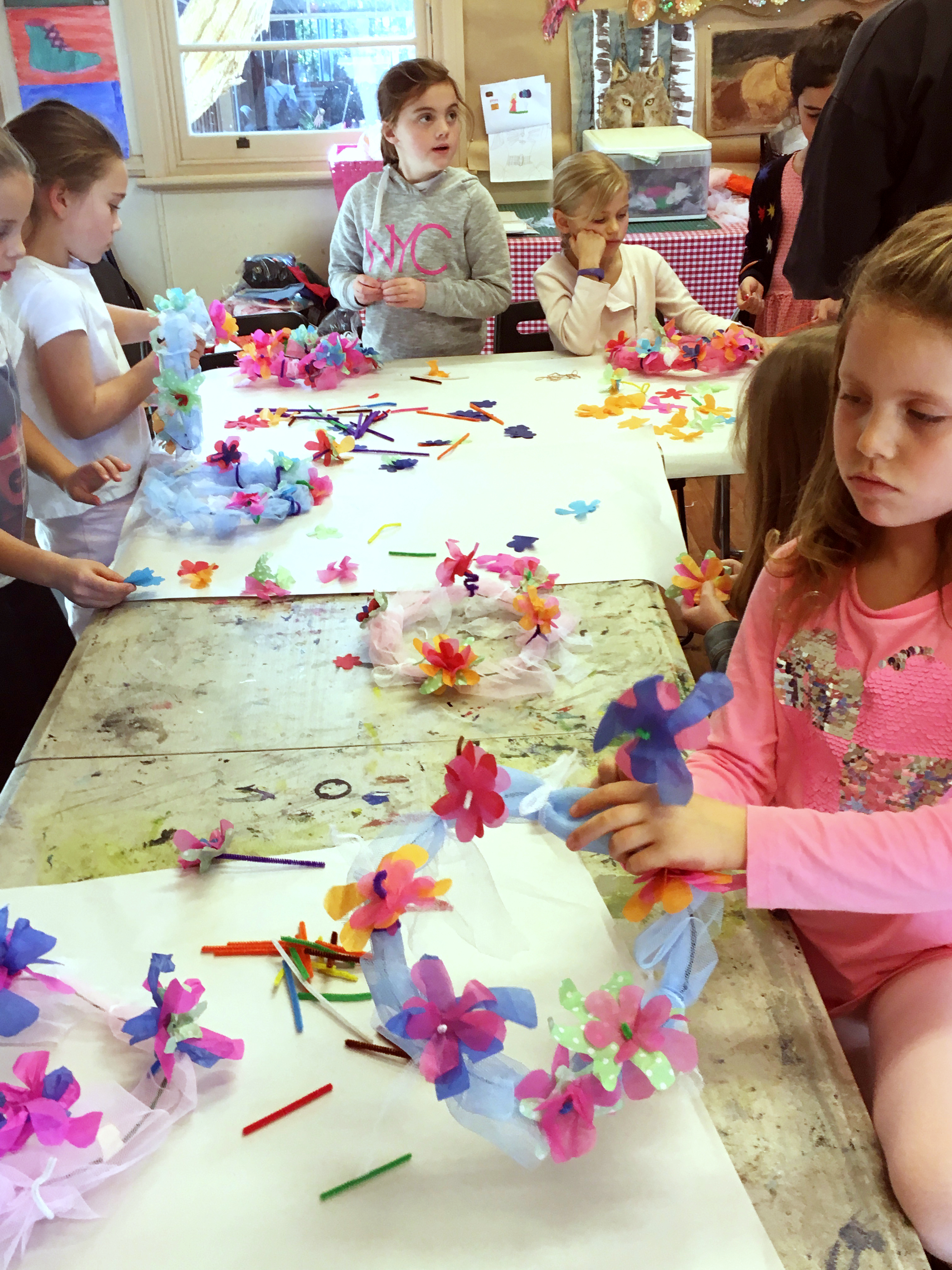 Winter school holiday workshops