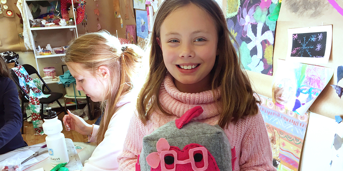 Summer Holiday Workshops Art Craft and Sewing